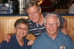Suzy Persian Turner & husband Jim enjoyed dinner together in Waveland, MS when Grayson made trip with Lutheran Diaster R